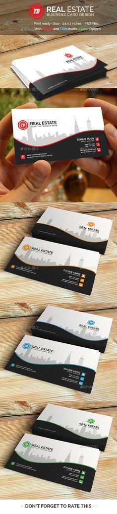Real Estate - Business Card Template