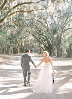 Wormsloe Wedding  #thehappybloom #wormsloe #wormsloewedding #ivoryandbeau #blushbyhayleypaige #candi #blushweddingdress #savannahbridal #savannahbridalboutique #savannahweddingdresses #savannahbridal #colonialhouseofflowers