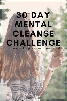 Mental Cleanse Challenge: Week One   www.awelderswife.com