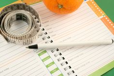 Create your own food journal! So helpful!!