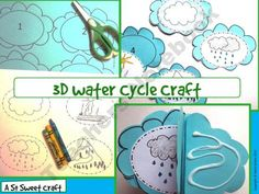3-D Water Cycle Craft