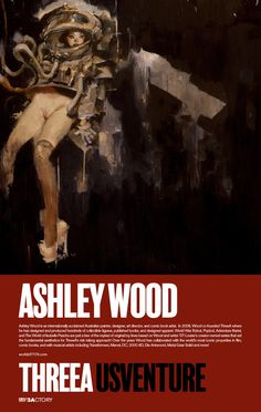 We're thrilled to be joined by and showcase the original artwork and sculpture by our US VENTURE ARTISTS! Ashley Wood will be in attendance at the US Venture Opening Reception on July 19th and during the Artist Signing on July 20th – all taking place at Sparks Gallery! You can find about Ashley Wood here: http://www.worldofthreea.com/usventure/artists Make sure to check www.instagram.com/AshleyWoodArt #threeA #AshleyWood #AshleyWoodArt #WorldOf3A #WO3A #USVENTURE #SDCC #SDCC2017 #SDCC17