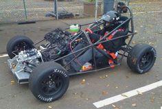 gsxr 1000 powered DP1 cart