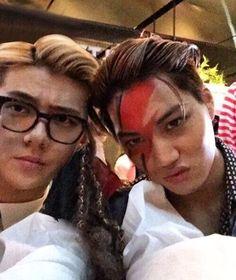 Sehun and Kai