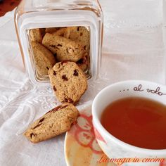 Biscotti uvetta e grano saraceno