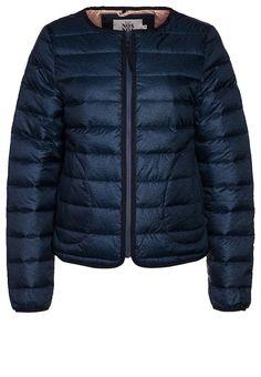 Noa Noa Down jacket - blue - Zalando.co.uk