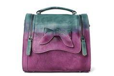 Leather Satchel Bag Doctor Bag Messenger Shoulder Bag Satchel WF53