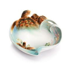 Image detail for -Franz Collection Turtle Porcelain Decorative Plate | Wayfair