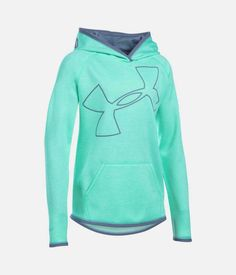 Under Armour Storm Armour® Twist Big Logo Hoodie in Crystal 1284879-960