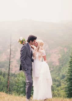 There is no doubt in my mind that the mountains will be the backdrop at my wedding. Just too gorgeous.