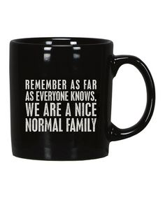 This 'Normal Family' Mug is perfect! #zulilyfinds