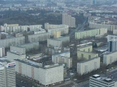 Apartment buildings from the communist era in Berlin