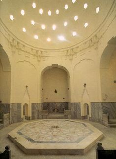 Turkish baths - a place where you can relax. These  turkish baths are known for centuries.