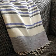 Seaside 100/% coton serviette de bain fouta de plage Peshtemal fouta hammam fairtrade Vert