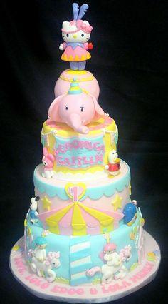 Hello Kitty Themed Cake - by jtuazon @ CakesDecor.com - cake decorating website