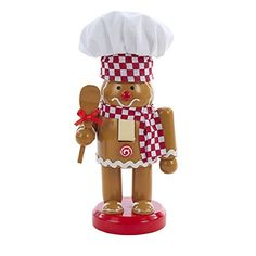Gingerbread Chef with Hat and Spoon Wooden Christmas 7 In... https://www.amazon.com/dp/B01IAZ7HV6/ref=cm_sw_r_pi_dp_x_90yCybGCW59FX