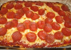 flourless, gluten-free pizza--I make this all the time. I made it for a church fellowship dinner and people were going back for 3rds.  It really is good!