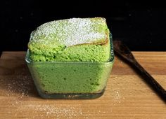 This matcha tea souffle is so light and soft which makes the perfect dessert for the Christmas dinner
