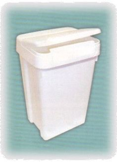 Diaper Pail with flip top lid - perfect with Planet Wise diaper pail liner.    @nickisdiapers #nickisdiapers #clothdiapers