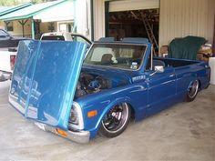 Chevy C10 Blazer Foreword Tilt Hood
