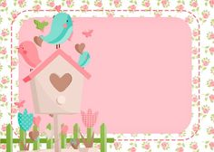 Bienvenid*s a My Baby Shower Pronto llegaré a conocerl*s. Diy And Crafts, Paper Crafts, Bird Party, Theme Noel, Borders And Frames, Printable Paper, Party Printables, Scrapbook Paper, Gift Tags