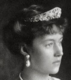 Tiara Mania: Grand Duchess Marie Adelaide of Luxembourg's Sapphire & Diamond Tiara