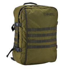 Military 44L Cabin Sized Bag Army Rucksack, Tactical Backpack, Color Verde Militar, Edc Bag, Cabin Bag, Travel Light, Military Green, Laptop Sleeves, Travel Bags