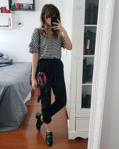 Super Vintage Look Chic Ideas Office Outfits, Casual Outfits, Cute Outfits, Fashion Outfits, Style Casual, Casual Chic, Casual Looks, Work Fashion, Fashion Looks