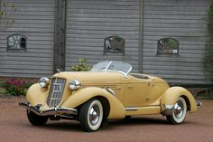 1934 Auburn Speedster- A piece of art that makes the act of getting there trully awesome.