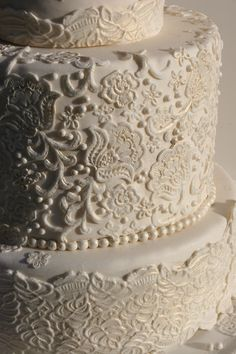 Beautiful lace detail.