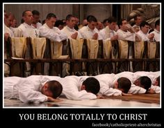 Never stop praying for our Priests and our Seminarians!
