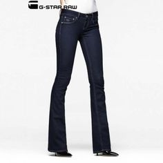 G-Star Raw 3301 Women's Bootcut Jeans - Raw