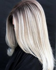 Ice ice baby ❄️ used Bond Enforcing Premium Lightener 9 with 20 Vo. to lift, then toned with 9 5 Ice Ice Baby, Light Blonde Hair, Salon Style, Platinum Blonde, Hair Goals, Hairdresser, Bond, Hair Color, Hair Beauty