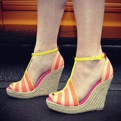 Bright Wedges for Spring