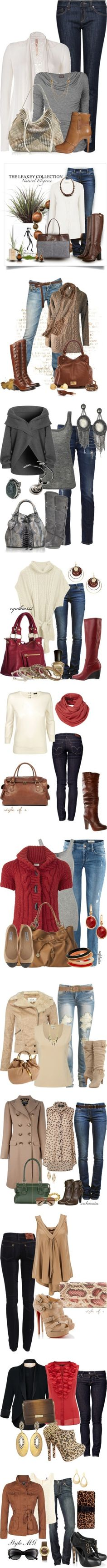 """The Skinny Jean Syndrome"" by esha2001 on Polyvore..Fall looks"