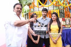 Ramasakkanodu Movie launch http://www.idlebrain.com/news/functions1/muhurat-ramasakkanodu.html