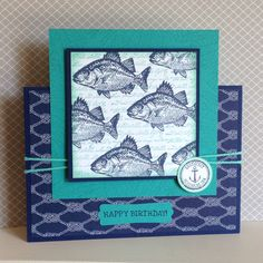 By the Tide stamp set - created by Julia Jordan