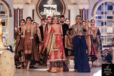 That Blue Dress or Saree UFF!! Pantene Bridal Couture Week '13, Lahore – Deepak Perwani