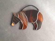 Animal decor rustic gifts rustic Christmas by SunDogArtAndGlass