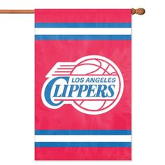 04317c9c76c5 Los Angeles Clippers NBA Applique Banner Flag (44x28)