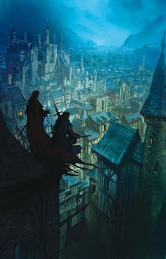 Digital Art Inspiration and Tutorials – The Round Tablet » The Crown Conspiracy by Marc Simonetti
