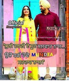 ❤ Punjabi Love Quotes, Love Quotes In Hindi, Me Quotes, Attitude Status, Girl Photo Poses, Girl Photos, Shayari Funny, Punjabi Jokes