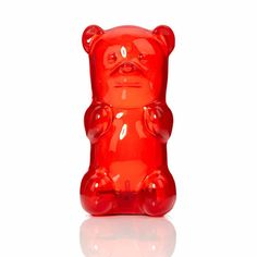 Gingerbread World and Gummy Bears - to eat or to enjoy. Night light in shape of Haribo Gummy Bear