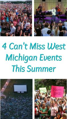 Mark your calendars for these big West Michigan summer events.