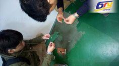 Dịch vụ thi công sơn epoxy chuyên nghiệp tại hà nội: Sửa chữa sơn sàn nền epoxy tại khu vực miền bắc