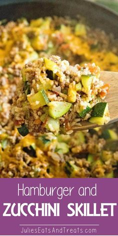 and Zucchini Skillet ~ Delicious One Pan Dinner That is Light & Health. Hamburger and Zucchini Skillet ~ Delicious One Pan Dinner That is Light & Health. Hamburger and Zucchini Skillet ~ Delicious One Pan Dinner That is Light & Health. Stew Meat Recipes, Ground Meat Recipes, Healthy Meat Recipes, Meat Recipes For Dinner, Cooking Recipes, Skillet Recipes, Light Meals For Dinner, Skillet Food, Healthy Ground Beef