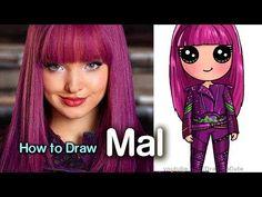 COMO DIBUJAR HARLEY QUINN KAWAII PASO A PASO - Dibujos kawaii fáciles – Super facil - YouTube