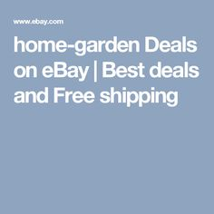 home-garden Deals on eBay | Best deals and Free shipping