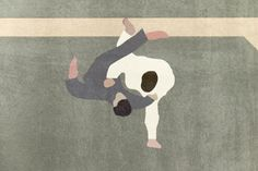 "Jon Koko - ""Judo"". Signed and numbered art print, limited edition of 23. For sale at www.masterverk.com"