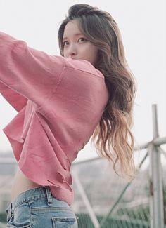 "koreanfashionblog: "" ""인모 붙임머리) 디핑 피스 18인치 265,000won "" """